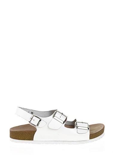 %100 Deri Sandalet-D by Divarese